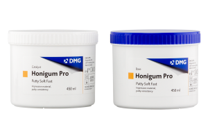 Honigum Pro Putty Soft fast 450 ml x 2 szt. DMG