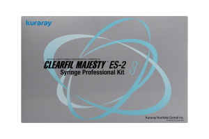 Clearfil Majesty ES-2 Syringe Kit 3,6 g x 12 szt. + 1,8 g x 4 szt. Kuraray